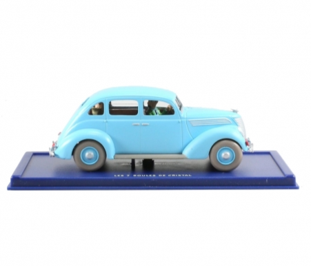 Voiture de collection Tintin Le Taxi Bleu Ford V8 - 25 €